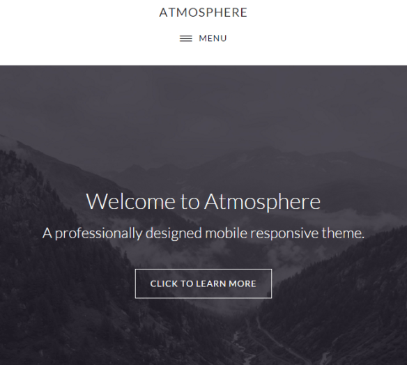 Atmosphere Pro- Landing page template