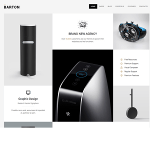 BARTON - SMART portfolio theme