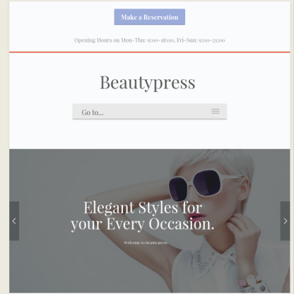 BeautyPress WordPress Theme