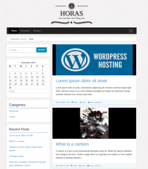 Blogs-WordPress-theme-Horas