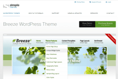 Breeze Theme Page