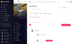 BuddyApp Activity Page