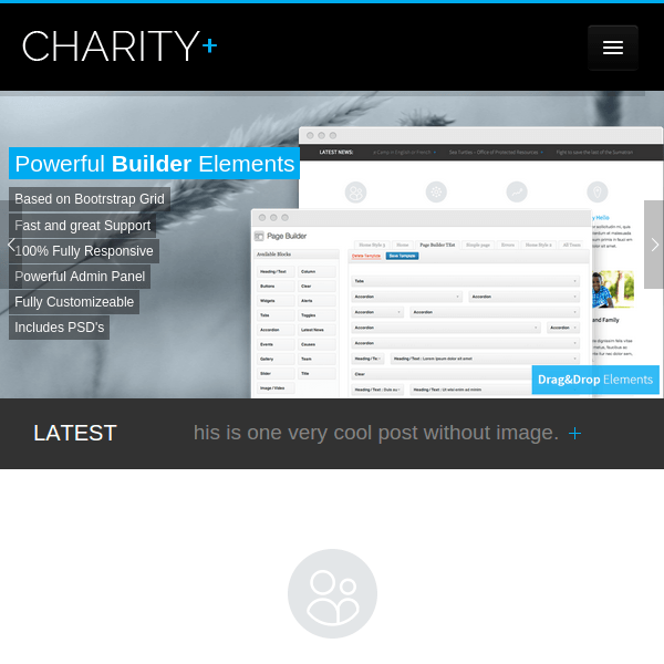 CharityPlus WordPress Theme