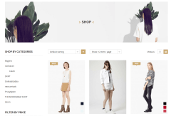 Cloth-Mart Shop Page