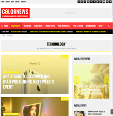 Colornews-WordPress-theme-Technology