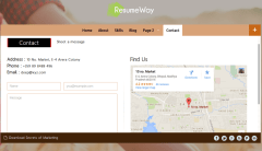 Contact Page – ResumeWay