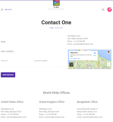 Contact-Page-Sink-WordPress-theme
