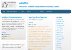 Edge case of iamsocial