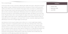 Enigma-parallax – Page with right sidebar1