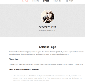 Expose-Pro-WordPress-Theme