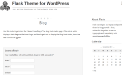 Flask Blog Page