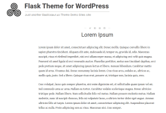 Flask Pages