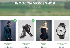 Green Nature Shop Page