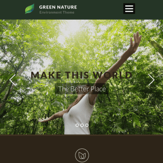 Green Nature - Environmental / Non-Profit WP Theme
