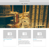 Homepage of Arora Theme