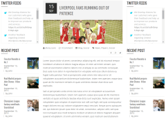 Kickoff- Blog with dual sidebar