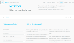 Kreo WP Agency Services Page