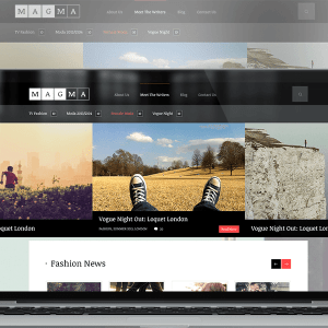 Magma WordPress Magazine Theme