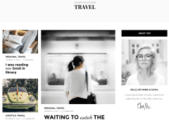 Olivia Travel Page