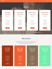 Pricing Page of Happy Rider