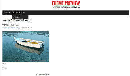 RenNews Child Preview Page