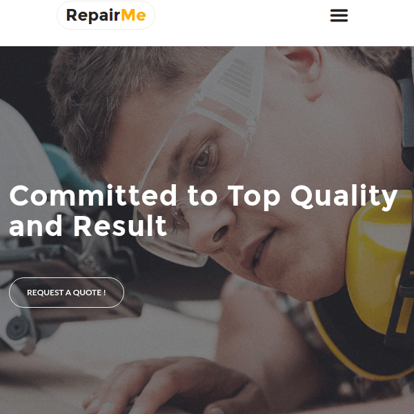 RepairMe – Professional Handyman WordPress Theme
