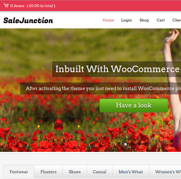 SaleJunction Homepage