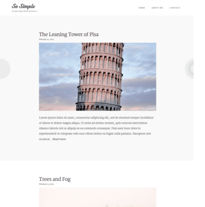 So simple - Blog and Magazine WordPress theme