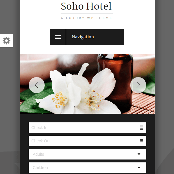 Soho Hotel - Responsive Hotel Booking WP Theme