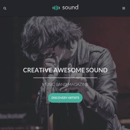Sound Music Theme - With Continuous Playback