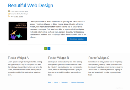 Synapse Footer