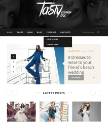 Tasty-Featured-WordPress-theme