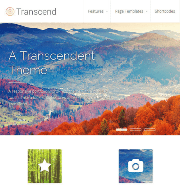 Transcend – Business WordPress theme