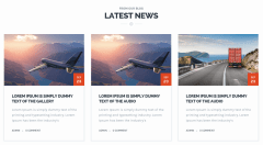 Transport Latests News Section