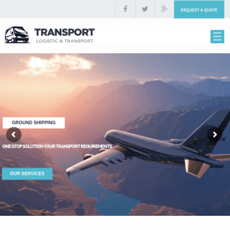 Transport - Logistic, Transportation & Warehouse WP Theme