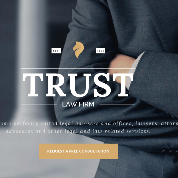 Trust – Lawyer & Attorney Business WP Theme