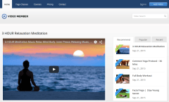 Video Member Home Page