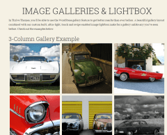 Voice – Shortcodes for creating image galleries and lightbox