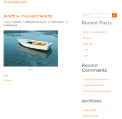 WordPress-Bootcake-theme