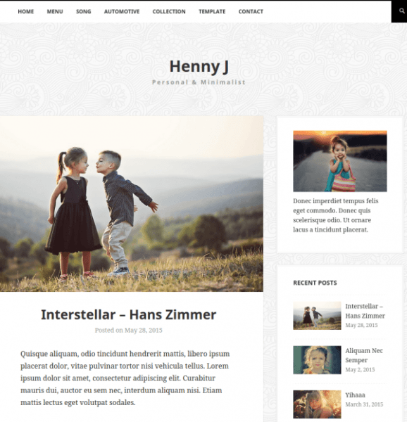 hennyj-WordPress-theme-image