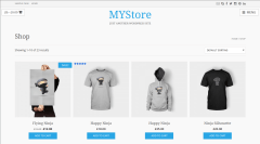 myStore Shop Page