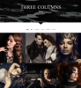 3 columns gallery page - Chandelier