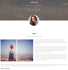 About Me Page – Ri Twoblog