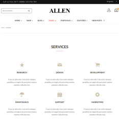 Allen-WordPress-theme-services