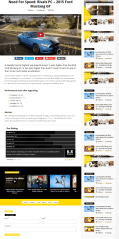 Article of Videonews theme with youtube video
