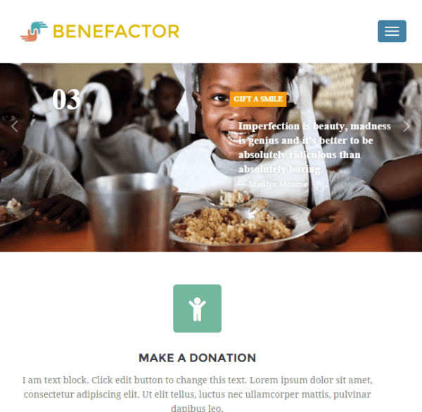 Benefactor – Multipurpose WordPress theme for NonProfit websites png