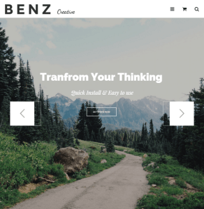 Benz - Creative Multiuse WP theme