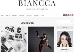 Biancca LookBook Page