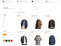 Bishop – Shop page (Mens category)
