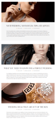 Blog page of Jewelrica theme